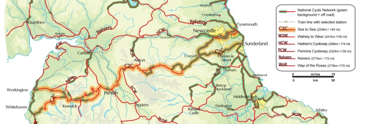 C2C map
