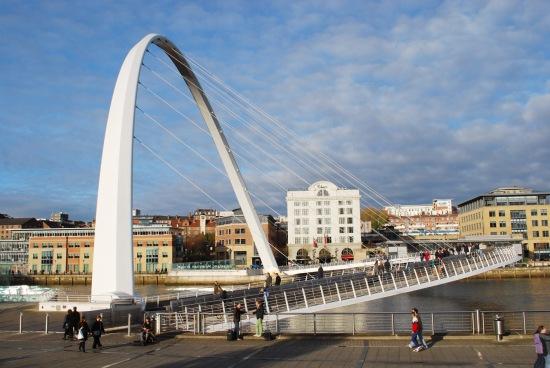 Blinking Eye Bridge Newcastle